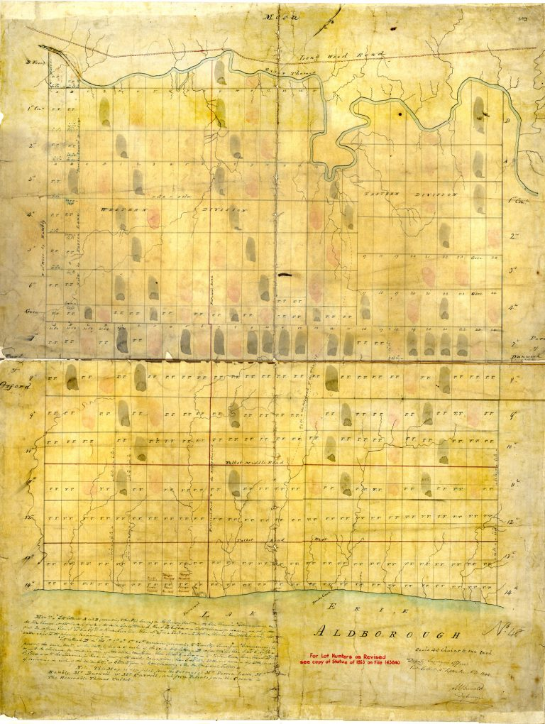 Aldborough map