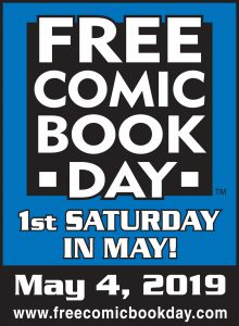 Comic Book Day - 1st Saturday in May