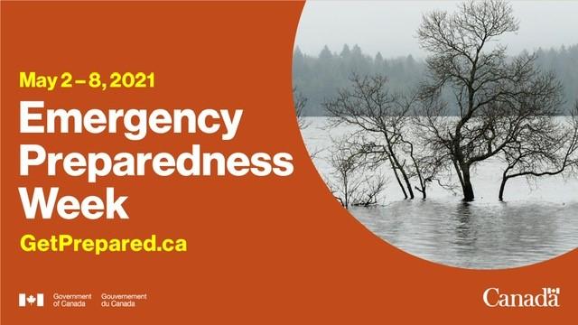 Emergency Preparedness Week Promotional Ad