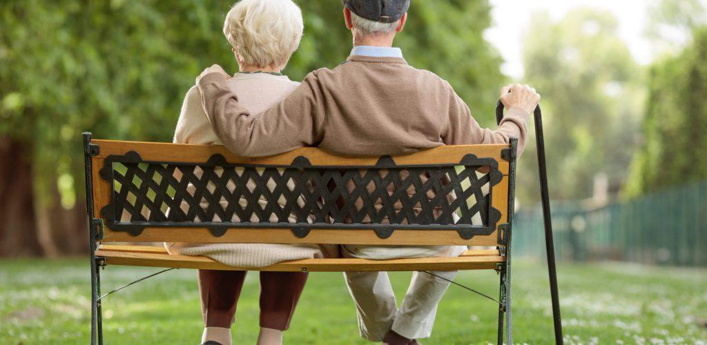 Seniors on Bench